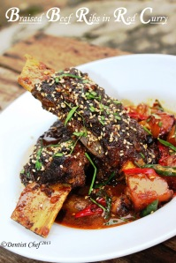 How Recipe braised beef ribs red curry coconut milk