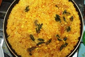 paella rice saffron recipe seafood