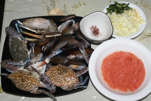 paella seafood ingredient basic paella recipe seafood