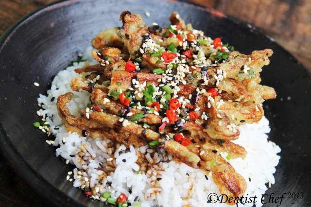 Crispy Enoki Mushrooms Tempura With Teriyaki Sauce Meatless Monday Recipes Dentist Chef