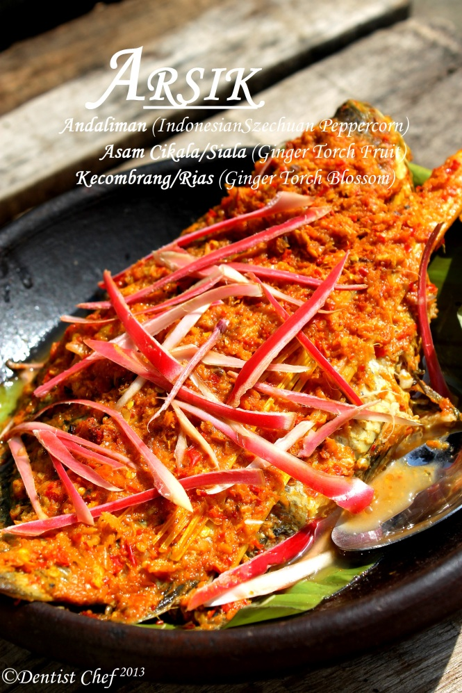 Resep Arsik Ikan / Indonesian (Batakness) Spiced Fish with Torch