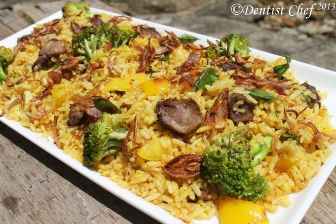 resep nasi biryani kambing enak mudah masakan arab india