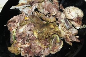 resep olahan daging kambing kepala kambing
