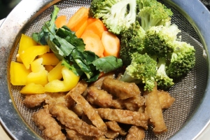 resep vegetarian daging gluten enak mock wheat meat recipe