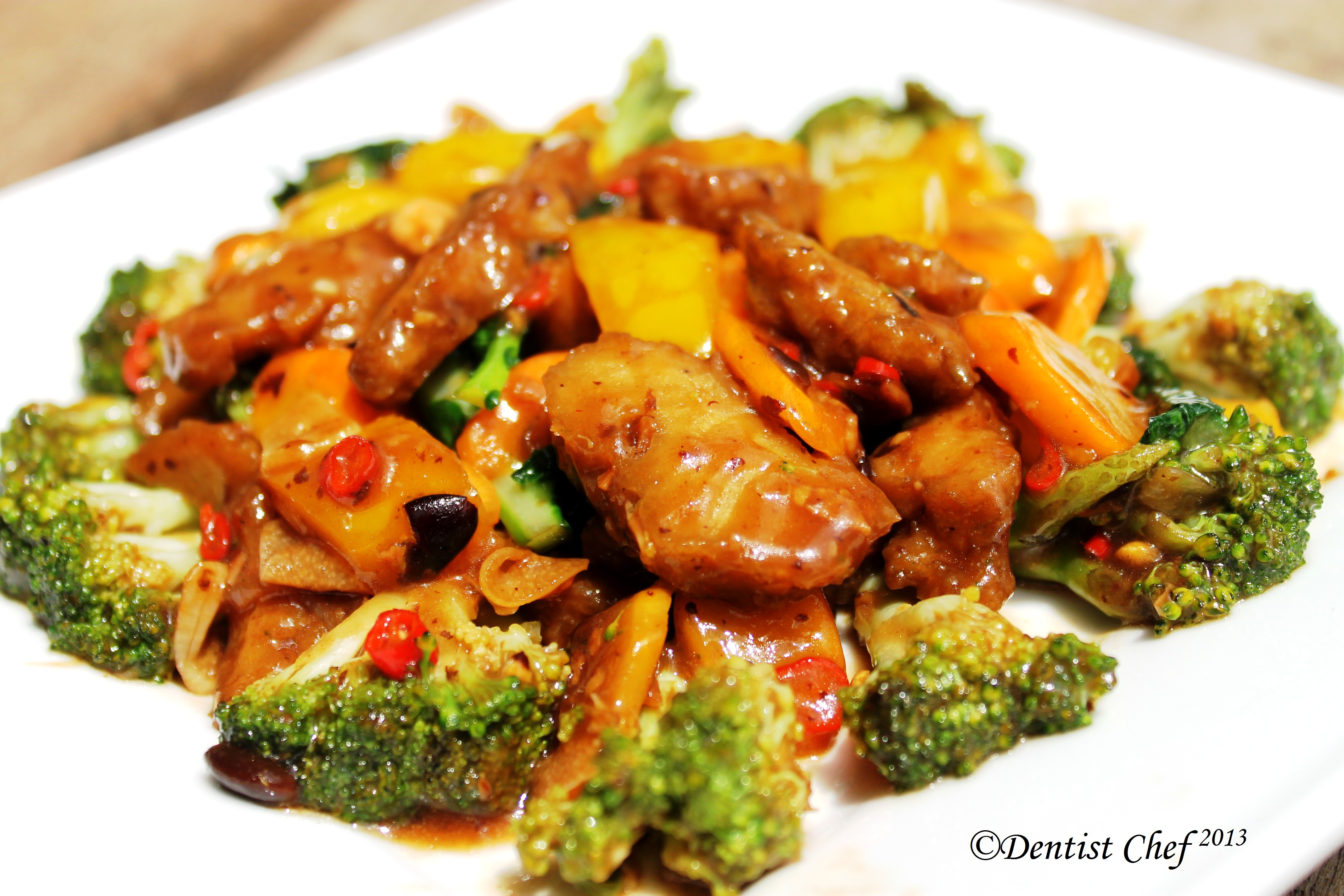Chinese Stir Fry Beef Recipe  Dentist Chef-5127