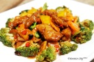 stir fry seitan gluten veggies black bean sauce vegetarian recipe