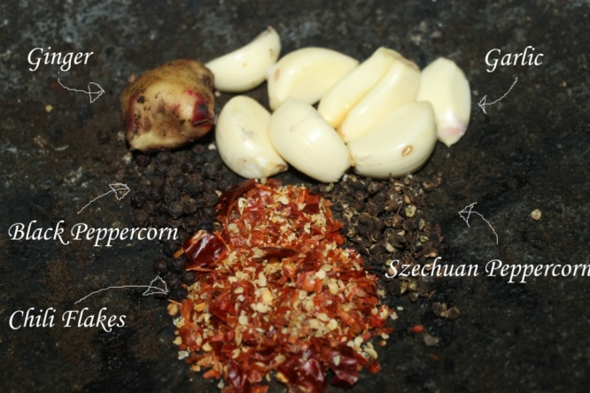 szechuan chili peppercorn sauce  barbeque seasoning
