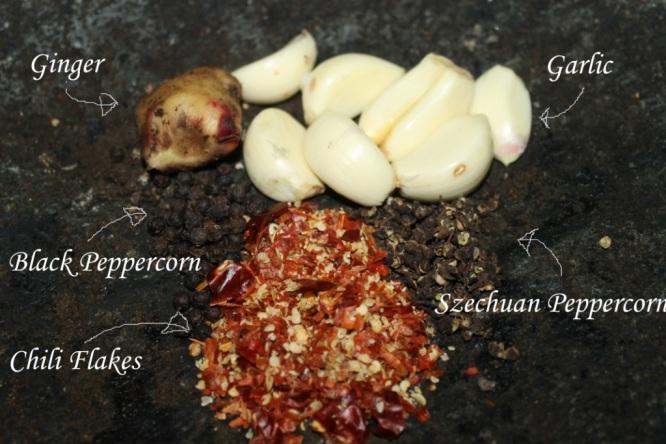 szechuan chili peppercorn sauce  barbeque seasoning