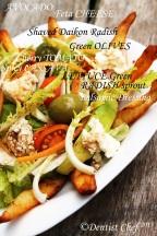 avocado feta cheese salad recipe greek salad how to make healthy salad dentist chef