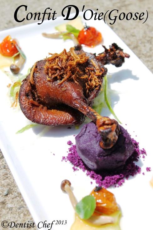 goose confit d'oie recipe swan confit recipe duck confit recipe ala dentist chef