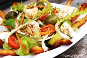 greek salad recipe radish salad recipe feta cheese salad radish sprout recipe