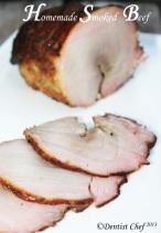 homemade smoked beef woodchips make smoked meat