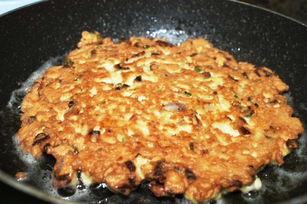 resep tofu omelette tahu telur with peanut sauce meat