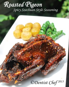 roast pigeon recipe chinese style szechuan five spice