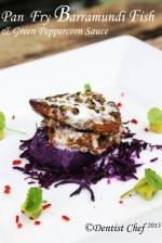 barramundi fish fillet green peppercorn sauce barramundi recipe