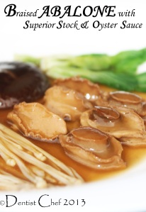 Braised abalone oyster sauce recipe CNY chinese new year abalone recipe