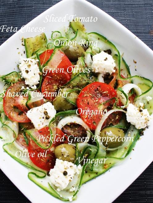 how to make cucumber salad tomato salad olive salad greek salad for steak