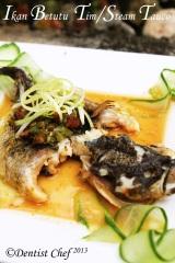 ikan betutu tim ikan malas tauco resep tim ikan betutu steam ikan betutu tauco