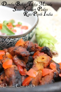 resep kambing bakar domba bakar bumbu pedas india roasted lamb goat spicy tikka masala seasoning