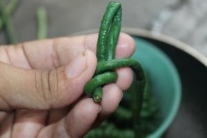 resep tumis kacang panjang ala resto daging cincang