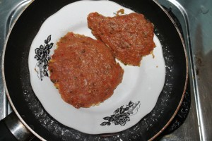 steamed minced meat for stewed fish maw angsio hipio