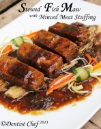 stew fish maw stuffed minced meat recipe chinese hipio