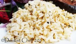 butter rice recipe herbs butter rice