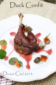 duck confit de canard recipe crispy duck leg france recipe