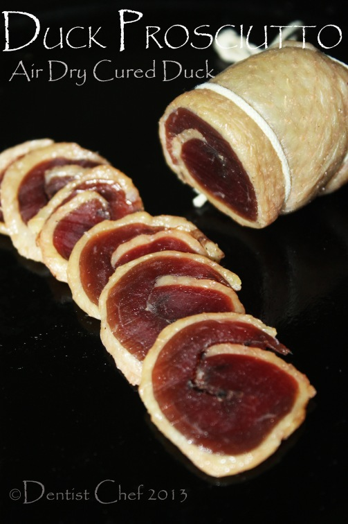 duck prosciutto homemade recipe dry cured duck breast