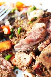 grilled lamb leg tender moist recipe baby lamb leg