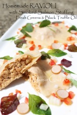 homemade ravioli smoked salmon stuffing recipe fresh ravioli pasta