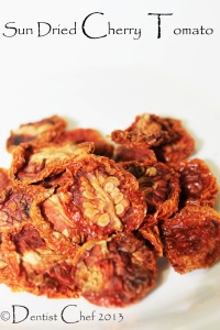 homemade sun dried cherry tomato recipe