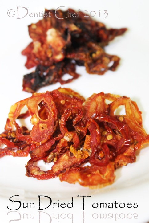 homemade sun dried tomatoes dried cherry tomato
