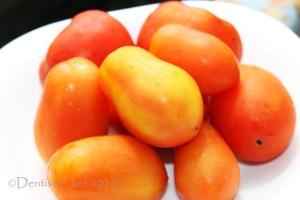 plum tomato sun dried homemade