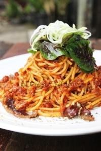 prosciutto pasta recipe sun dried tomato peasto spaghetti