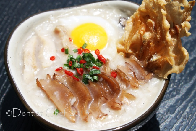 resep abalone bubur abalone korea