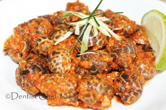 resep kerang macan saus pedas singapura chili sauce sea snail