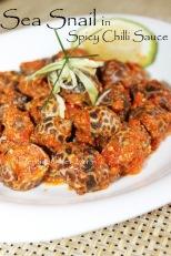 sea snail spicy chilli sauce recipe kerang macan cili api pedas