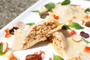 smoked salmon pasta ravioli recipe filling salmon