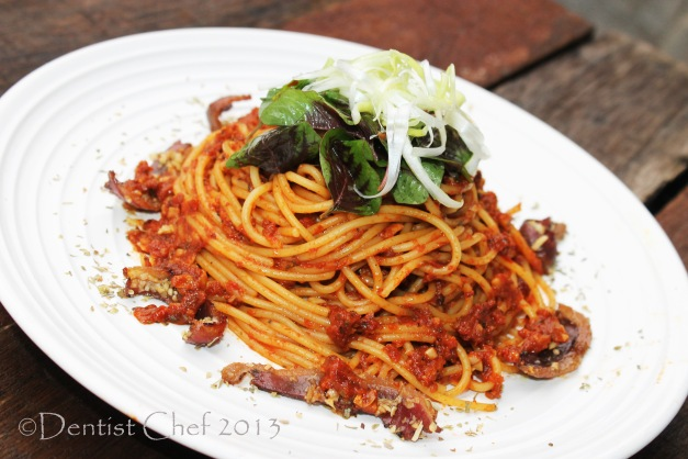 spaghetti sun dried tomato pesto recipe roasted pepper recipe