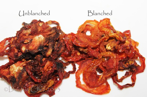 sun dried tomato slice blanched unblanched dried tomatoes homemade