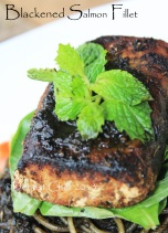 blackened salmon recipe how to blackened salmon fillet