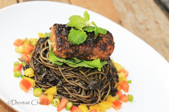 negro pasta squid ink black pasta recipe