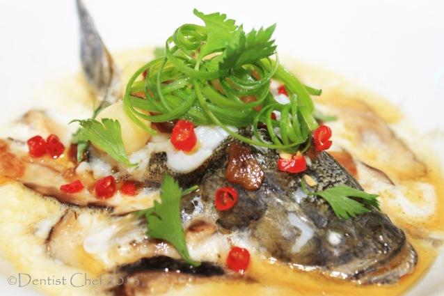 recipe steamed fish egg mushroom ikan steam kukus ikan malas