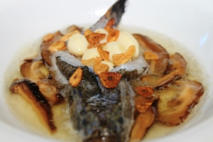recipe steamed fish with egg white mushroom