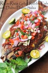 resep ikan baronang bakar rica rica sambal dabu dabu enak