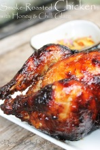 smoke roasted chicken recipe roasted chicken honey glaze spicy