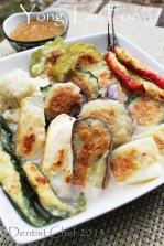 yong tou foo recipe tofu stuffed  fish paste recipe