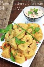 beer batter squid calamari deep fried crispy calamari recipe