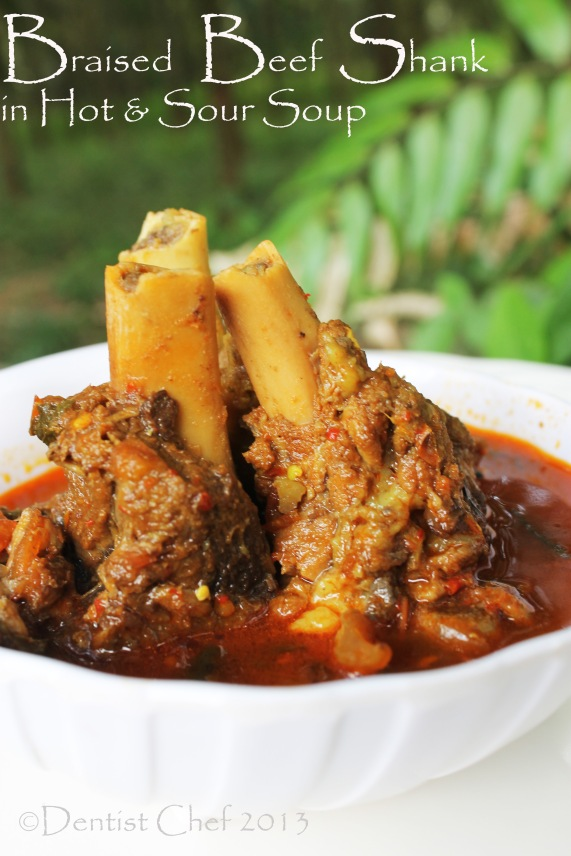 braised beef shank recipe hot and sour beef